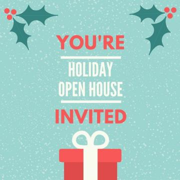 Holiday Open House Florist