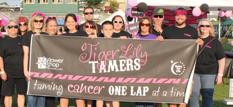 Flower Shop Network participates every year in our local Relay for Life to raise money for cancer awareness.