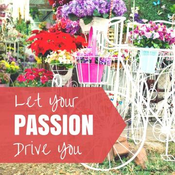 Let Your Passion Drive You