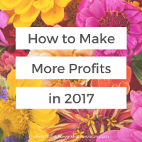 How to Make More Profits in Your Flower Shop in 2017