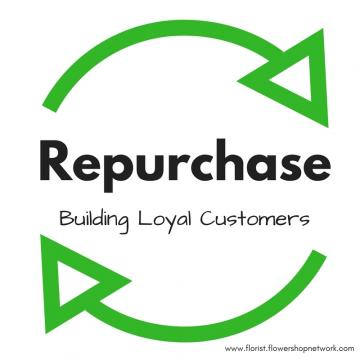 Get customers to the final stage of the buying cycle: repurchase.
