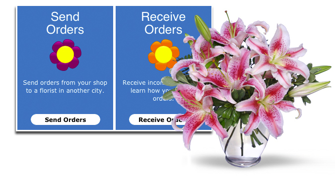Sending with Flower Shop Network